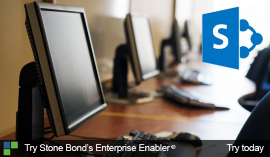 Try Stone Bond's Enterprise Enabler for SharePoint