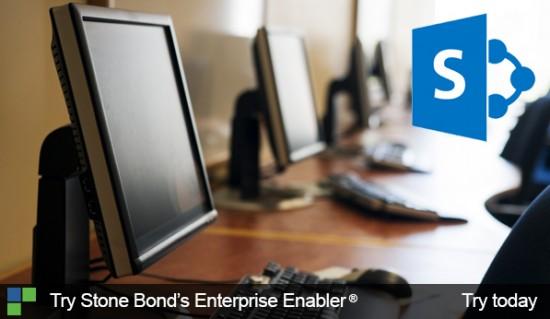 Try Stone Bond's Enterprise Enabler for SharePoint
